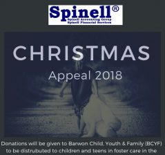 Spinell Group Christmas Appeal 2018