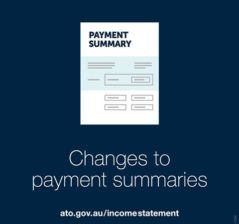 Changes to Payment Summaries
