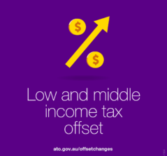 Low & middle income tax offset
