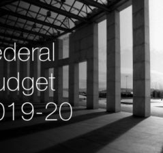 2019 – 2020 Federal Budget at a glance